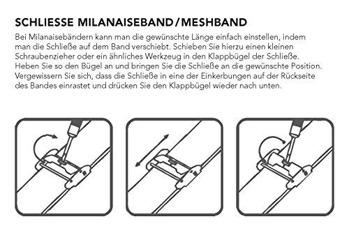 2760 5 liebeskind berlin damen analog | Liebeskind Berlin Damen Analog Quarz Armbanduhr mit Edelstahlarmband LT-0075-MQ
