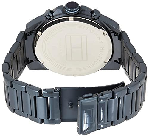 2787 2 tommy hilfiger herren multi zi | Tommy Hilfiger Herren Multi Zifferblatt Quarz Uhr mit Edelstahl Armband 1791560