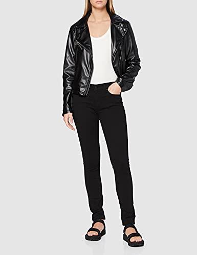 3013 2 levis damen 711 skinny jeans   Levi's Damen 711 Skinny Jeans, Schwarz (Black Sheen 0052), 30W / 32L