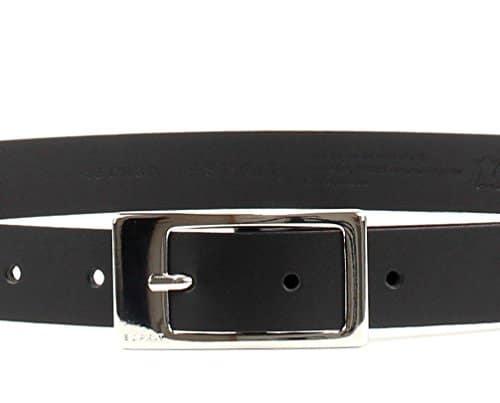 3140 5 esprit damen classic guertel | ESPRIT Damen Classic Gürtel, Schwarz (Black 001), 6661 (Herstellergröße: 100)