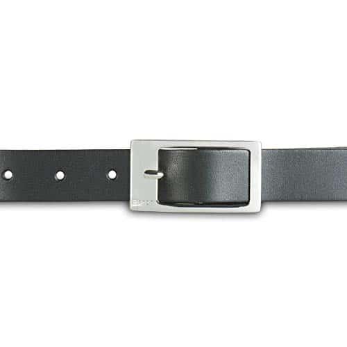 3140 6 esprit damen classic guertel | ESPRIT Damen Classic Gürtel, Schwarz (Black 001), 6661 (Herstellergröße: 100)