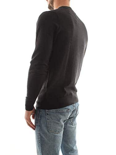 3276 4 tommy hilfiger herren core cot | Tommy Hilfiger Herren CORE Cotton-Silk CNECK Pullover, Schwarz (Flag Black 032), XX-Large