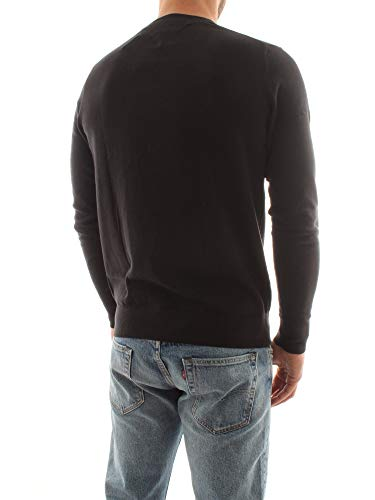 3276 6 tommy hilfiger herren core cot | Tommy Hilfiger Herren CORE Cotton-Silk CNECK Pullover, Schwarz (Flag Black 032), XX-Large