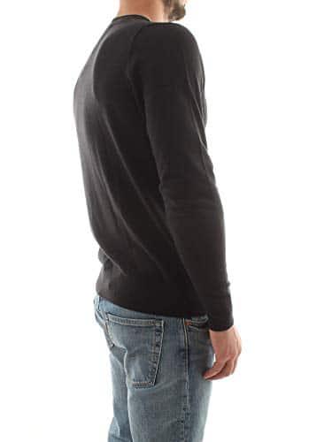 3276 7 tommy hilfiger herren core cot | Tommy Hilfiger Herren CORE Cotton-Silk CNECK Pullover, Schwarz (Flag Black 032), XX-Large