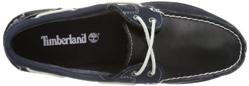 3521 5 timberland damen classic mokas | Timberland Damen Classic Mokassins Bootsschuhe, Blau (Navy), 39 EU