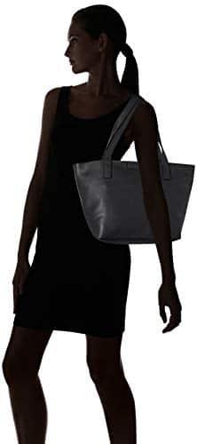 3657 6 tom tailor damen taschen gel | TOM TAILOR Damen Taschen & Geldbörsen Shopper Miri schwarz/black,OneSize