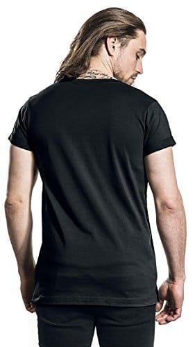 3893 5 mister tee herren und jungen t   Mister Tee Herren und Jungen T-Shirt F#?KIT Tee, Männer Shirt mit Motiv Front-Print Fuck It, Schwarz, Größe M