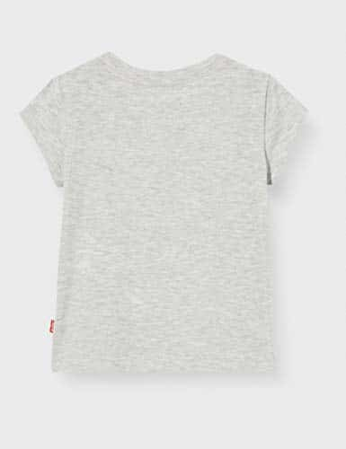 3949 3 levis kids maedchen t shirt l | Levi's Kids Mädchen T-Shirt Lvg Sportswear Logo Tee Gray Heather 12 Jahre