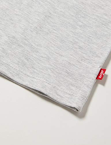 3949 4 levis kids maedchen t shirt l | Levi's Kids Mädchen T-Shirt Lvg Sportswear Logo Tee Gray Heather 12 Jahre