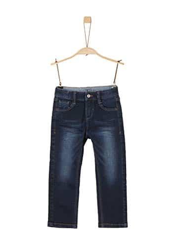 4016 2 s oliver junior jungen 74 899 | s.Oliver Junior Jungen 74.899.71.0532'' Slim Jeans, Dark Blue stretche, 128 (Herstellergröße: 128/SLIM)