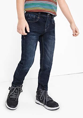 4016 3 s oliver junior jungen 74 899 | s.Oliver Junior Jungen 74.899.71.0532'' Slim Jeans, Dark Blue stretche, 128 (Herstellergröße: 128/SLIM)