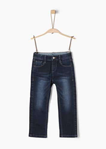 4016 4 s oliver junior jungen 74 899 | s.Oliver Junior Jungen 74.899.71.0532'' Slim Jeans, Dark Blue stretche, 128 (Herstellergröße: 128/SLIM)