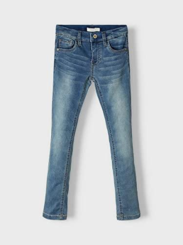 4018 4 name it boy x slim fit jeans s   NAME IT Boy X-Slim Fit Jeans Sweatdenim 164Light Blue Denim