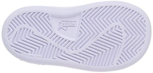 4096 4 puma unisex kinder smash v2 sd | PUMA Unisex Kinder Smash v2 SD V PS Sneaker, Blau (Peacoat White), 33 EU