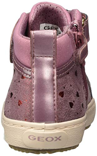 4232 3 geox maedchen j kalispera girl   Geox Mädchen J Kalispera Girl I Sneaker, (Dk Pink), 30 EU
