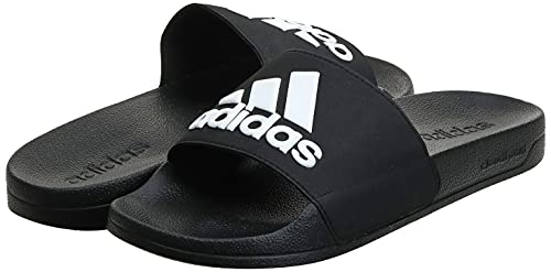 4316 7 adidas adilette shower herren   Adidas Adilette Shower, Herren Dusch- & Badeschuhe, Schwarz (Core Black/Footwear White/Core Black 0), 44.5 EU