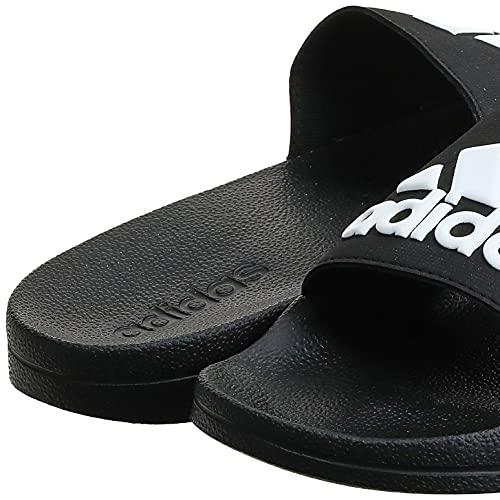 4316 8 adidas adilette shower herren   Adidas Adilette Shower, Herren Dusch- & Badeschuhe, Schwarz (Core Black/Footwear White/Core Black 0), 44.5 EU