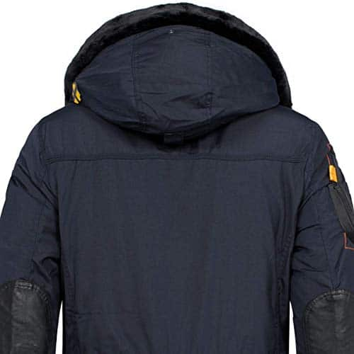 10521 3 geographical norway herren win | Geographical Norway Herren Winterjacke Parka Acore gefütterte Kapuze Navy M