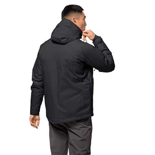 10655 3 jack wolfskin herren troposphe   Jack Wolfskin Herren Troposphere Jacket M Wetterschutzjacke, black, L
