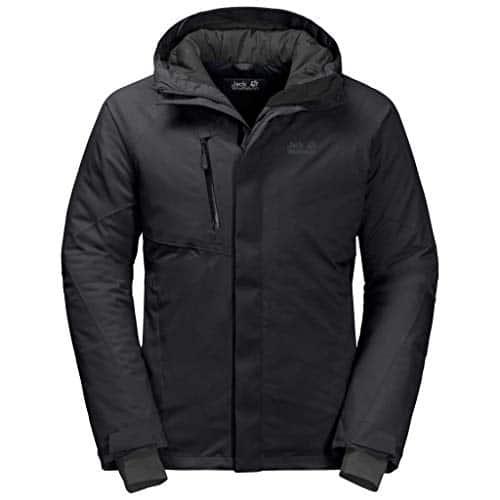 10655 6 jack wolfskin herren troposphe   Jack Wolfskin Herren Troposphere Jacket M Wetterschutzjacke, black, L