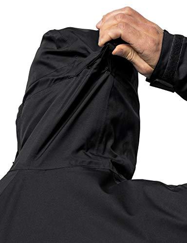 10655 7 jack wolfskin herren troposphe   Jack Wolfskin Herren Troposphere Jacket M Wetterschutzjacke, black, L