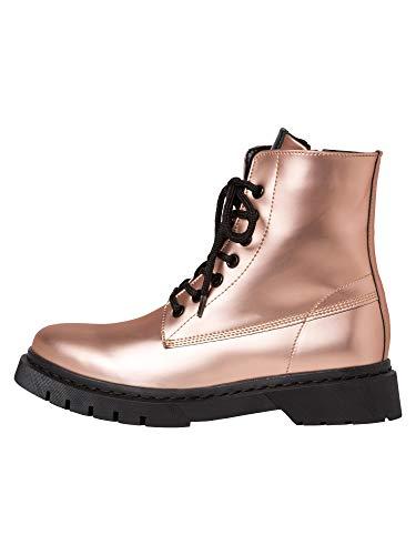 4579 4 tamaris damen stiefel rose met   Tamaris Damen Stiefel Rose Metallic, Schuhgröße:EUR 39