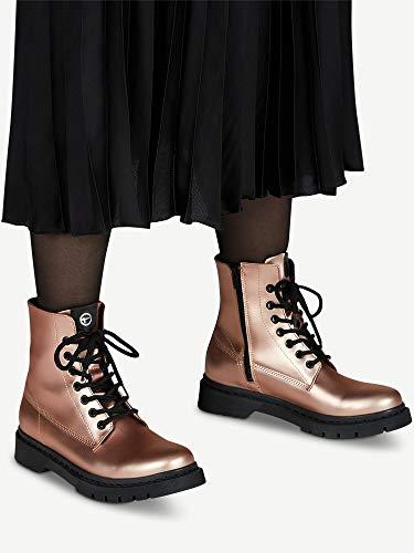 4579 6 tamaris damen stiefel rose met   Tamaris Damen Stiefel Rose Metallic, Schuhgröße:EUR 39