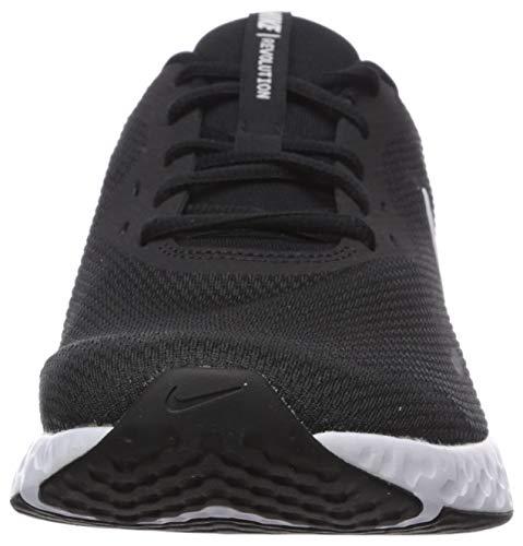 9642 2 nike herren revolution 5 leich   Nike Herren Revolution 5 Leichtathletikschuhe, Schwarz (Black/White-Anthracite 002), 42.5 EU