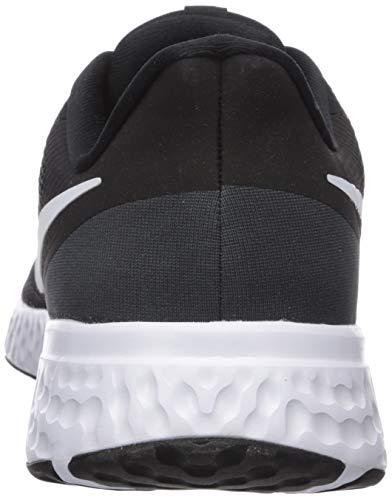 9642 3 nike herren revolution 5 leich   Nike Herren Revolution 5 Leichtathletikschuhe, Schwarz (Black/White-Anthracite 002), 42.5 EU
