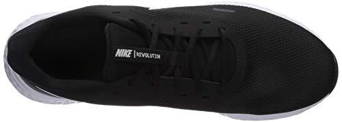 9642 5 nike herren revolution 5 leich   Nike Herren Revolution 5 Leichtathletikschuhe, Schwarz (Black/White-Anthracite 002), 42.5 EU