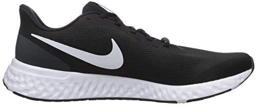 9642 6 nike herren revolution 5 leich   Nike Herren Revolution 5 Leichtathletikschuhe, Schwarz (Black/White-Anthracite 002), 42.5 EU