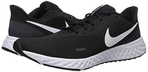 9642 7 nike herren revolution 5 leich   Nike Herren Revolution 5 Leichtathletikschuhe, Schwarz (Black/White-Anthracite 002), 42.5 EU