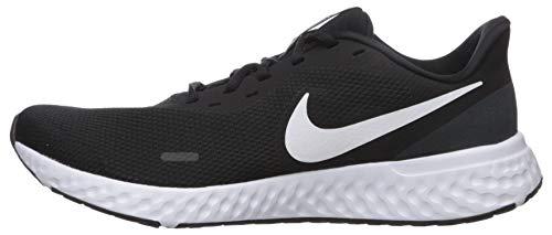 9642 8 nike herren revolution 5 leich   Nike Herren Revolution 5 Leichtathletikschuhe, Schwarz (Black/White-Anthracite 002), 42.5 EU