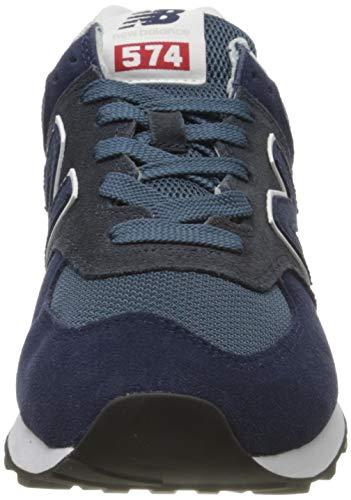 9752 2 new balance herren 574v2 sneak   New Balance Herren 574v2 Sneaker, Blau (Blue Eae), 42.5 EU