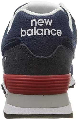 9752 3 new balance herren 574v2 sneak   New Balance Herren 574v2 Sneaker, Blau (Blue Eae), 42.5 EU