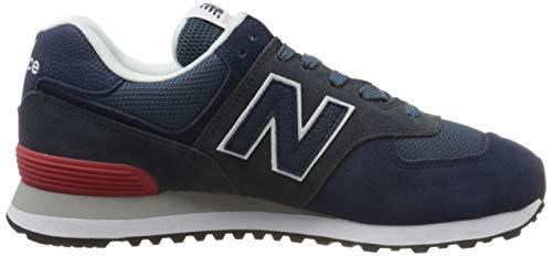 9752 6 new balance herren 574v2 sneak   New Balance Herren 574v2 Sneaker, Blau (Blue Eae), 42.5 EU