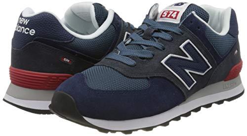9752 7 new balance herren 574v2 sneak   New Balance Herren 574v2 Sneaker, Blau (Blue Eae), 42.5 EU