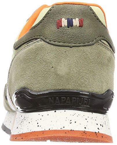 9942 3 napapijri footwear herren raba | Napapijri Footwear Herren RABARI Sneaker, Mehrfarbig (Khaki), 41 EU