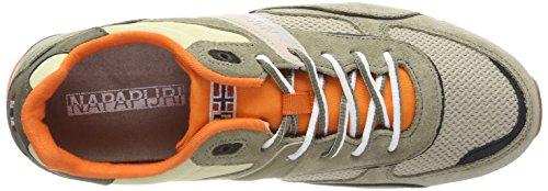 9942 5 napapijri footwear herren raba | Napapijri Footwear Herren RABARI Sneaker, Mehrfarbig (Khaki), 41 EU