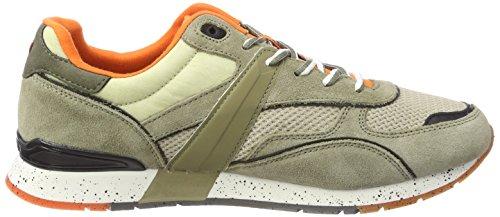 9942 6 napapijri footwear herren raba | Napapijri Footwear Herren RABARI Sneaker, Mehrfarbig (Khaki), 41 EU