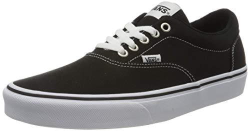 2070 9 vans herren doheny sneaker sc | Vans Herren Doheny Sneaker, Schwarz ((Canvas) Black/White 187), 42 EU
