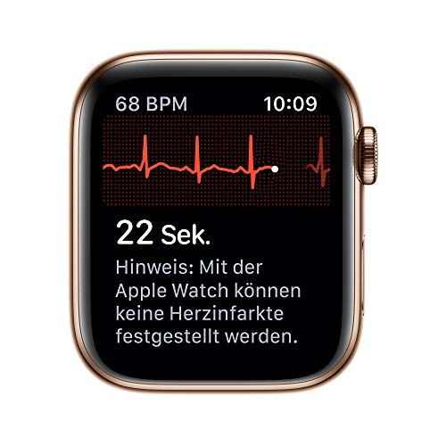 9236 5 apple watch series 5 gps | Apple Watch Series 5 (GPS + Cellular, 44 mm) Edelstahlgehäuse Gold - Milanaise Armband Gold