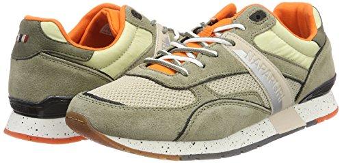 9942 7 napapijri footwear herren raba | Napapijri Footwear Herren RABARI Sneaker, Mehrfarbig (Khaki), 41 EU