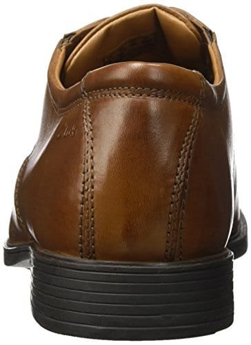12264 3 clarks herren tilden walk derb | Clarks Herren Tilden Walk Derbys, Braun (Dark Tan Leather), 40 EU
