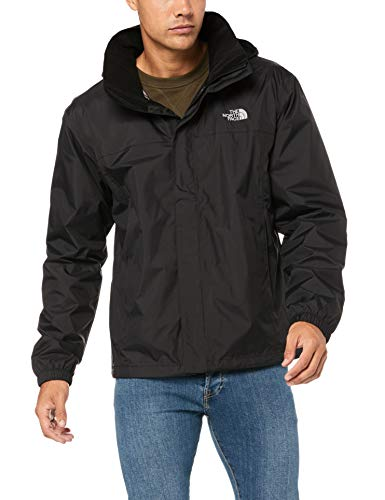 12593 3 the north face herren resolve | The North Face Herren RESOLVE 2Jacke, schwarz (Tnf Blk/Tnf Blk), L