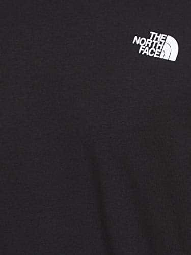 12597 9 the north face herren t shirt   The North Face Herren T-Shirt M S/S Red Box,schwarz (Schwarz-Tnf Black), L