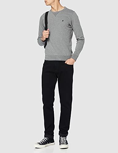 13454 3 replay herren m3436b 000 21842 | Replay Herren M3436B.000.21842 Sweatshirt, Grau (Melange Grey M14), Medium
