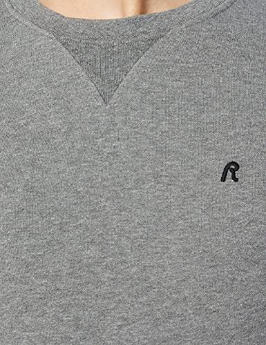 13454 6 replay herren m3436b 000 21842 | Replay Herren M3436B.000.21842 Sweatshirt, Grau (Melange Grey M14), Medium