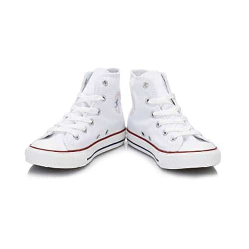 13802 3 converse chuck taylor all star | Converse Chuck Taylor All Star, Unisex-Kinder Hohe Sneakers, Weiß (Optical White), 33 EU