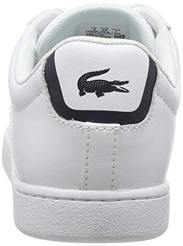 14225 3 lacoste carnaby bl damen snea | Lacoste Carnaby BL, Damen Sneaker, Weiß (weiß / dunkelblau weiß/dunkelblau), 38 EU (5 UK)